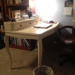 Eleri – my lovely, curvy writing desk