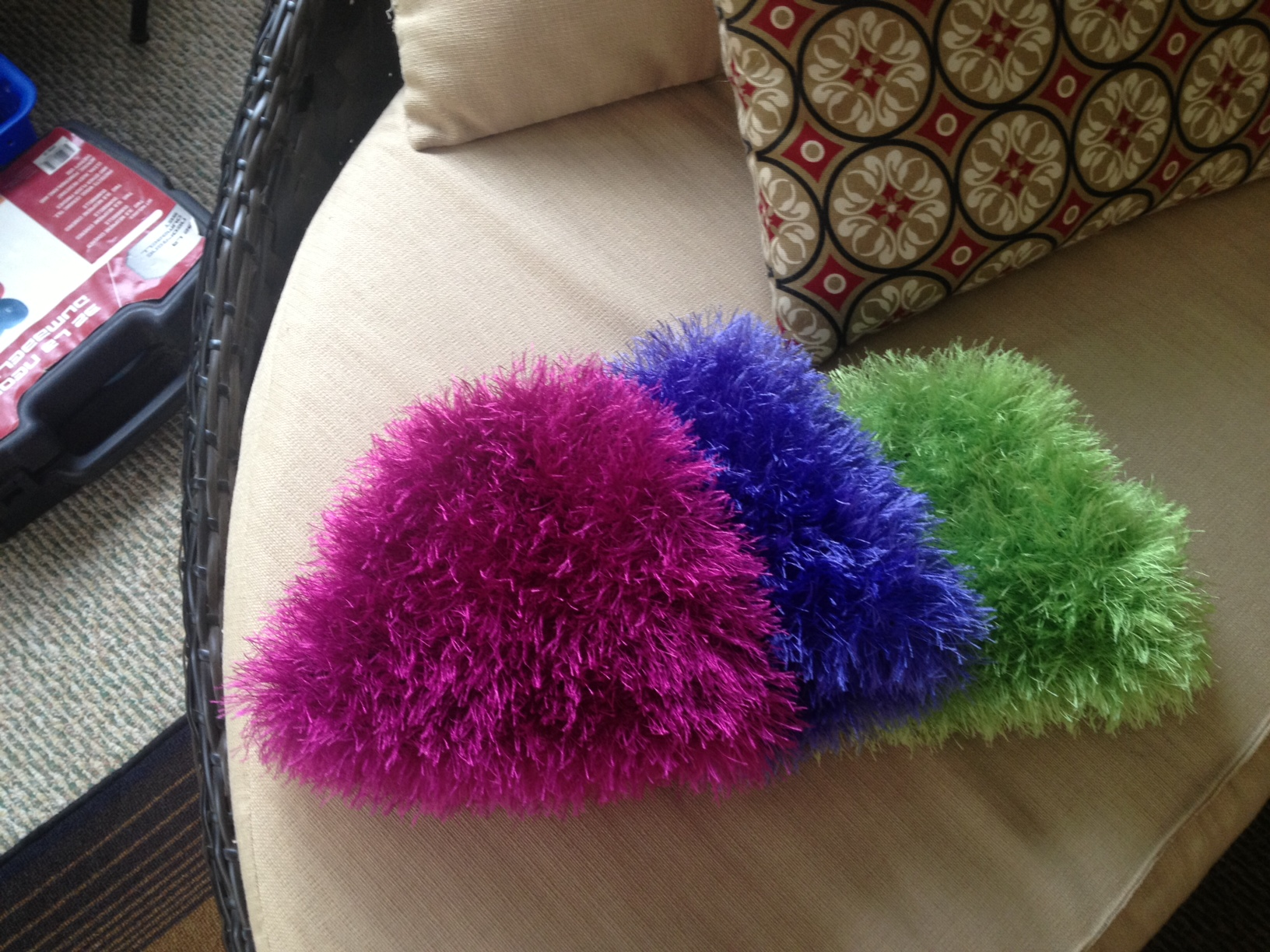 Heather McCollum » Fuzzy Fun Fur Cap Knitting Instructions