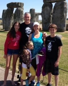 Family Stonehenge