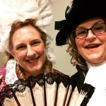Katherine Bone and me at Romancing Williamsburg 2019