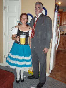 Beermaid and Zombie